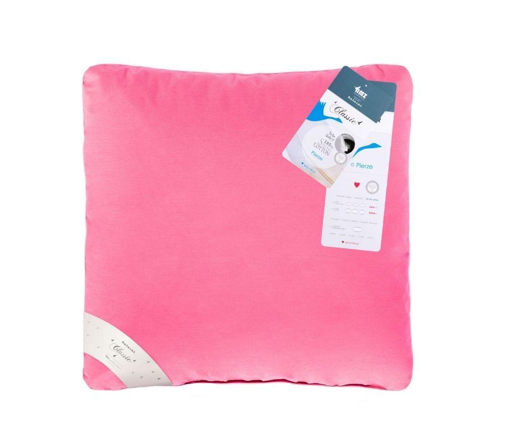 poduszka w kolorze różowym